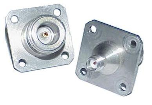 Mil-Spec SMA-Female to N-Female Coaxial Adapter