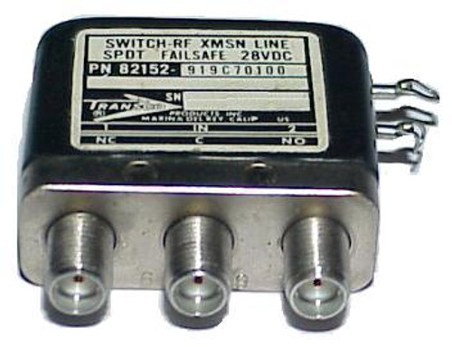 Transco 919C70100 - SPDT Failsafe RF Coaxial Switch