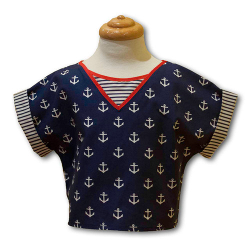Ariella Anchors Unisex Top - Front