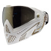 DYE I5 PAINTBALL MASK WHITE GOLD