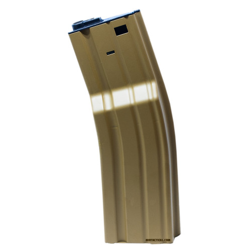 850RND FAT AIRSOFT MAG M SERIES TAN