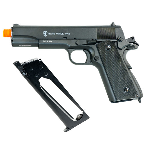 1911A1 CO2 AIRSOFT PISTOL BLACK