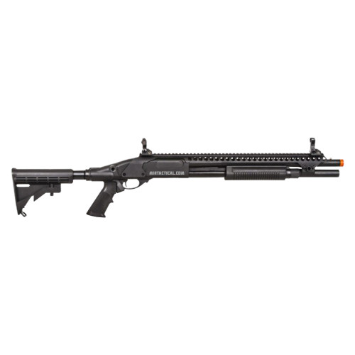 AIRSOFT GAS SCATTERGUN SP BLACK