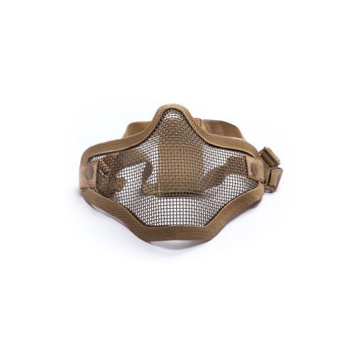 LOWER FACE MESH MASK TAN