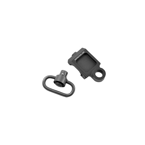 OFFSET QD SWIVEL MOUNT RAIL BLACK