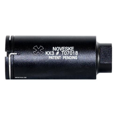 NOVESKE M STYLE AIRSOFT FLASH HIDER BLACK