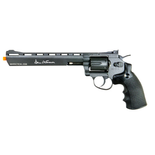 DAN WESSON 8` AIRSOFT REVOLVER GREY CO2