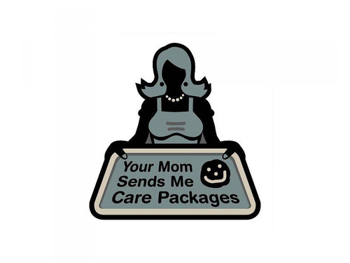 YOUR MOM SENDS PATCH
