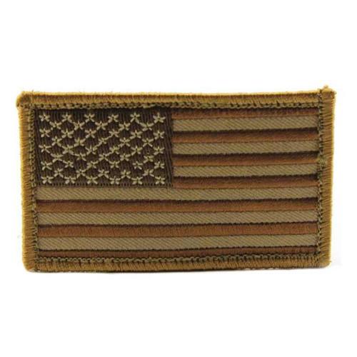 US FLAG MINI DESERT PATCH