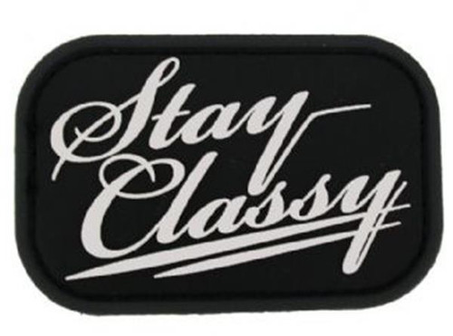 STAY CLASSY SWAT PATCH