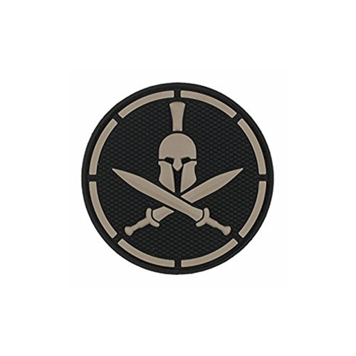 SPARTAN HELMET PVC SWAT PATCH