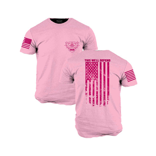 MIR EAGLE TSHIRT PINK BY GRUNT STYLE