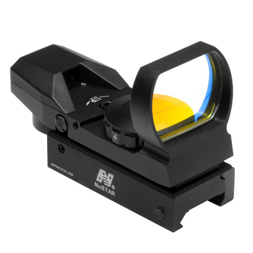 RED 4 RETICLE REFLEX OPTIC SIGHT BLACK