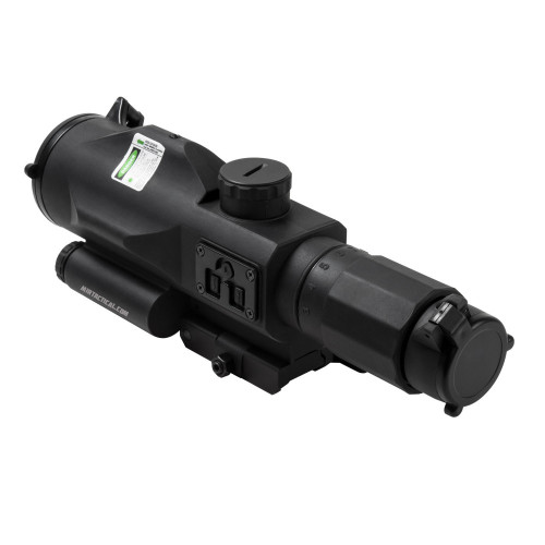 SRT 3-9X40 GEN 3 SCOPE W/ GREEN LASER BK