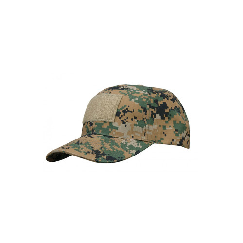 6 PANEL TACTICAL CAP W/LOOP MARPAT
