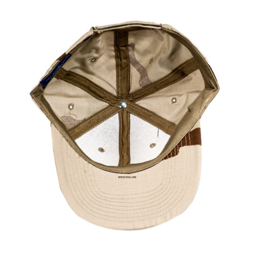 6 PANEL TACTICAL CAP W/LOOP 3 DESERT