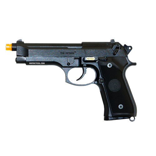 M9 HITMAN W/ COMPENSATOR AIRSOFT GBB PISTOL