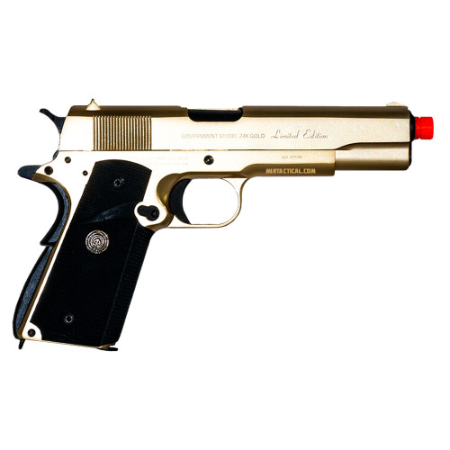 24K GOLD 1911 CLASSIC GBB AIRSOFT PISTOL