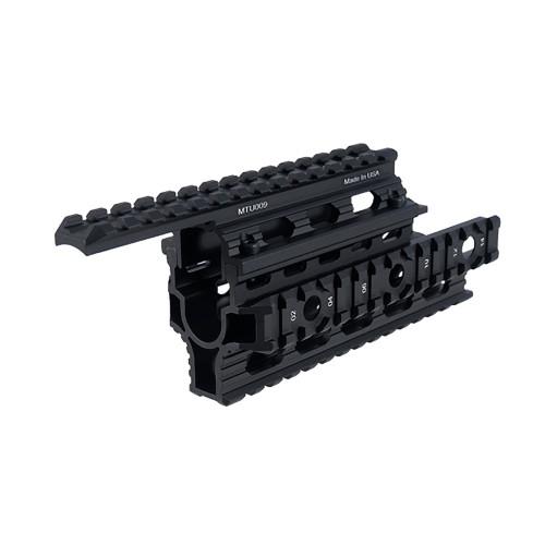 UNIVERSAL AK47 QUAD RAIL BLACK