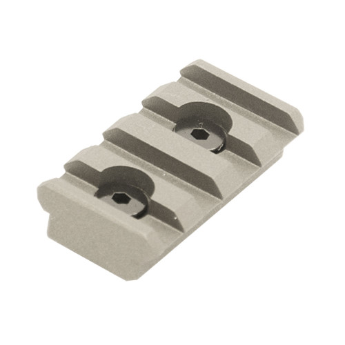 PRO 4-SLOT KEYMOD RAIL SECTION GREY