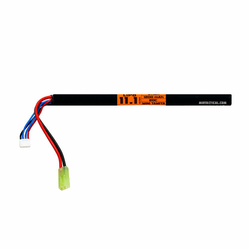 11.1V LIPO 1200MAH 20C LONG STICK