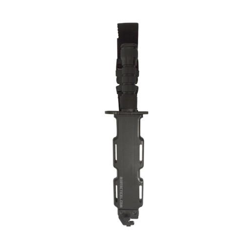V TACTICAL PLASTIC KNIFE BAYONET BLACK