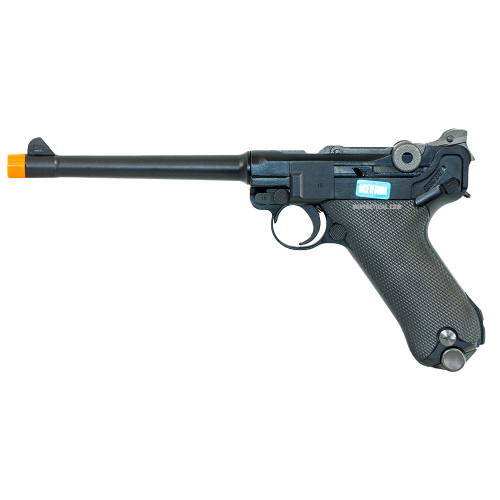 LUGER P08 6 INCH AIRSOFT BLACK