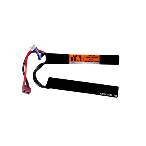 11.1V 1200 MAH 20C DEAN SPLIT LIPO BATTERY