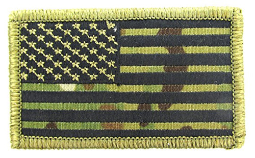 US FLAG MULTICAM PATCH