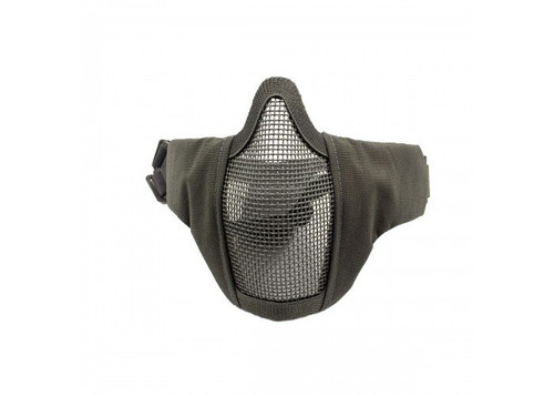 V3 STRIKE METAL MESH FACE MASK BLACK