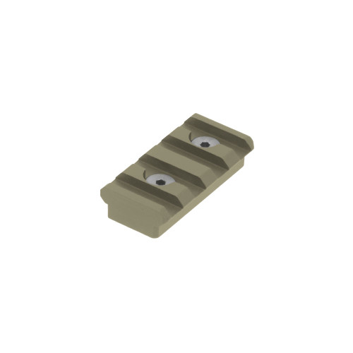 4 SLOT KEYMOD PICATINNY RAIL SECTION FDE CERAKOTE