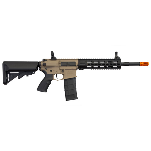 "COMMANDO AEG CQB 14.5"" KEYMOD AIRSOFT RIFLE TAN"