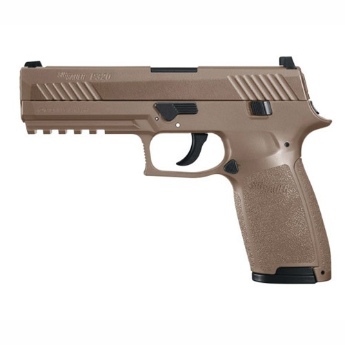 SIG P320 AIRGUN .177 CO2 30RD COYOTE