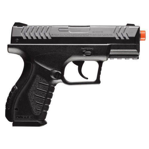 COMBAT ZONE ENFORCER AIRSOFT SPRING PISTOL BLACK