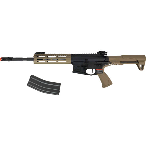 CM16 RAIDER-L 2.0E AIRSOFT RIFLE AEG TAN W/DEANS