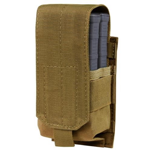 M14 STYLE SINGLE MAG POUCH GEN II COYOTE