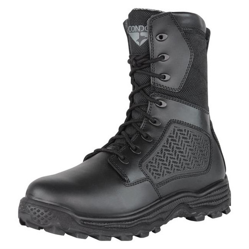 "MURPHY ZIP TACTICAL 8"" BOOT BLACK"