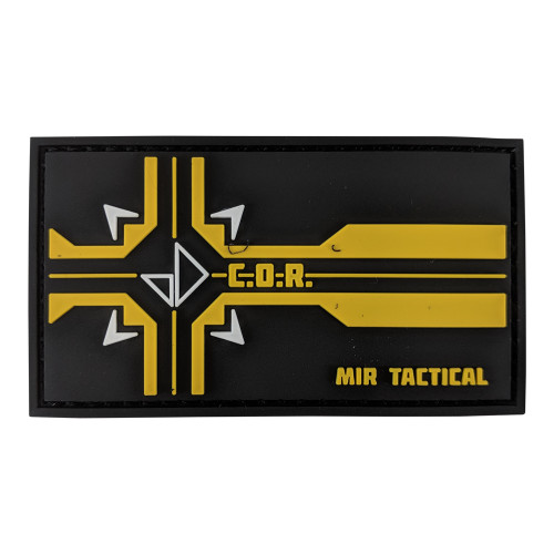 MIR TACTICAL COR PVC PATCH W/VELCRO