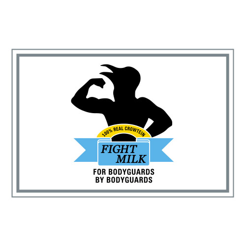 FIGHT MILK PVC PATCH W/ VELCRO