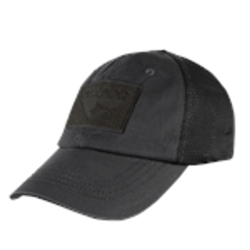 TACTICAL CAP MESH BLACK
