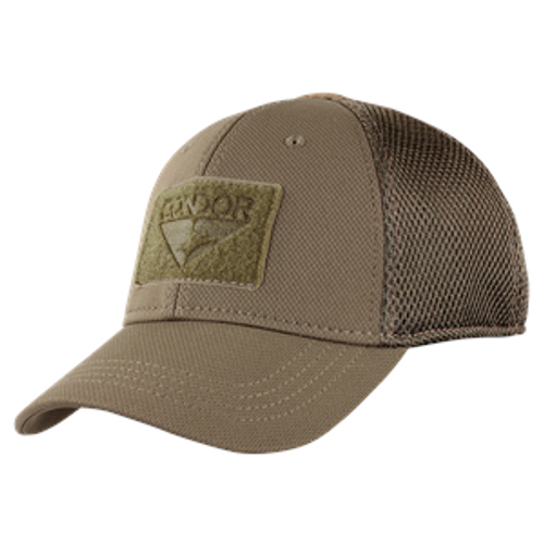 TACTICAL CAP MESH BROWN