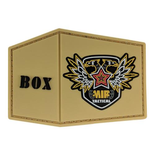 BOX PVC PATCH W/VELCRO