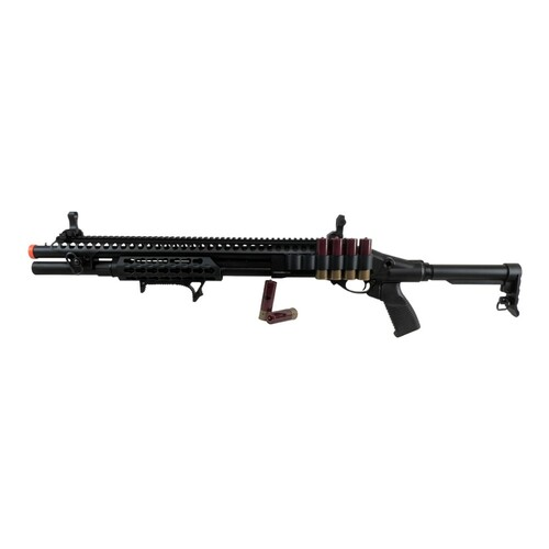 AIRSOFT GAS SCATTERGUN SPX BLACK