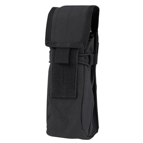 WATER BOTTLE POUCH BLACK