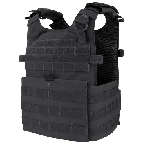 GUNNER PLATER CARRIER BLACK