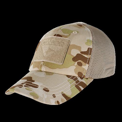 MESH TACTICAL CAP - MULTICAM ARID