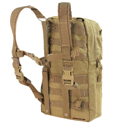 HYDRATION CARRIER 2 COYOTE BROWN