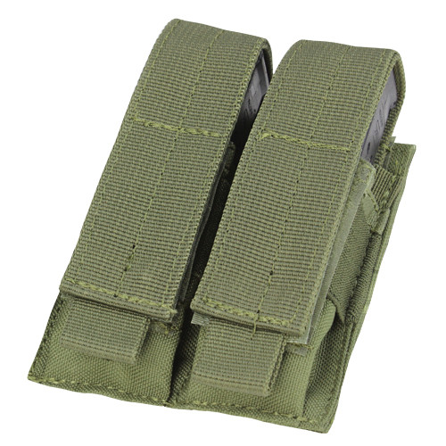 DOUBLE PISTOL MAG POUCH OD