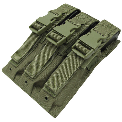 TRIPLE MP5 MAG POUCH OD