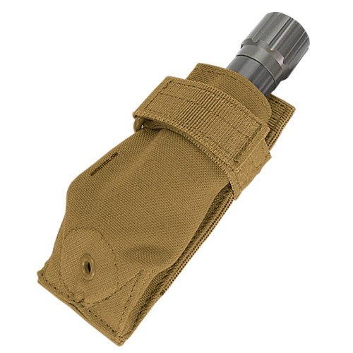 FLASHLIGHT POUCH COYOTE BROWN
